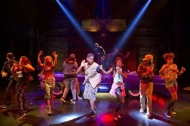 FILE - This image released by Boneau/Bryan-Brown shows the cast performing in