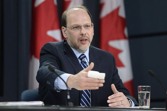 Correctional Investigator of Canada Howard Sapers speaks during a news conference in Ottawa on November 26, 2013. The federal prison ombudsman says it often takes more than two years for the Correctional Service to complete a mandatory review when someone behind bars dies of natural causes. THE CANADIAN PRESS/Adrian Wyld