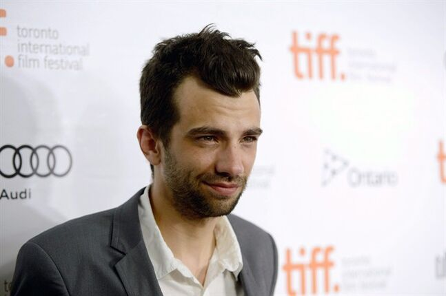 Actor Jay Baruchel arrives at the premiere of