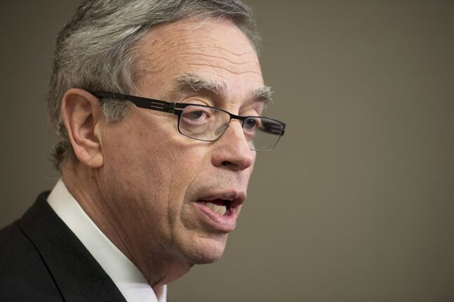 Natural Resources Minister Joe Oliver says the government is encouraged by the outcome of the U.S. State Department's final environmental impact study on the Keystone X-L pipeline. THE CANADIAN PRESS/Frank Gunn