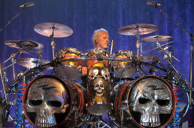 ZZ Top's Frank Beard makes playing his big kit look effortless, which belies the complexity of this talented drummer's percussion work.