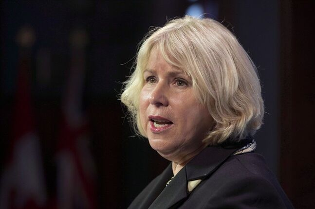 Ontario Health Minister Deb Matthews speaks at a news conference in Toronto on Monday, December 10, 2012. THE CANADIAN PRESS/Frank Gunn