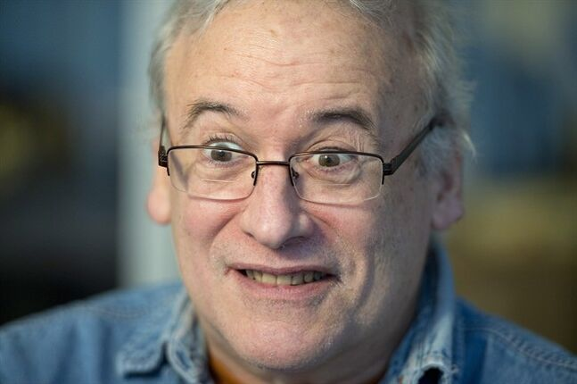 Author Robert Munsch is shown during an interview with The Canadian Press in Toronto on Thursday January 23, 2014. THE CANADIAN PRESS/Frank Gunn