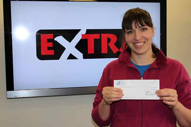 Kim Derkson of Shilo won $100,000 for having the winning Extra numbers on the Dec. 12 Western 649 draw.