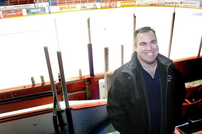 Shane Oliver, a local peewee hockey coach, has sustained nine concussions in his life. Oliver hosted a Concussion Awareness Night at Westman Place on Sunday evening as his team, the Brandon           Canadiens, wrapped up their regular season.