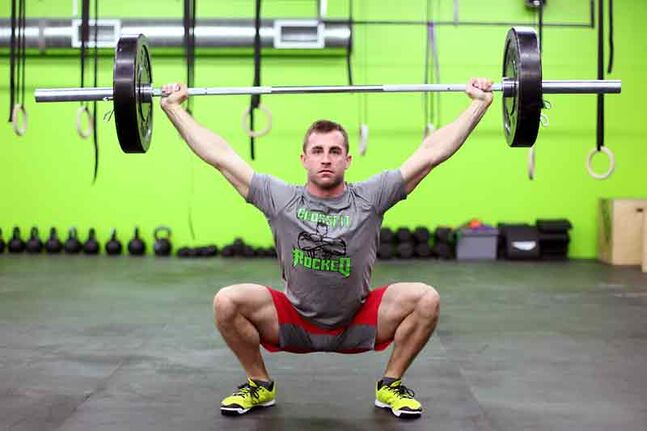 Zack McMillan poses for a photo while training at CrossFit Rocked on 10th Street recently.