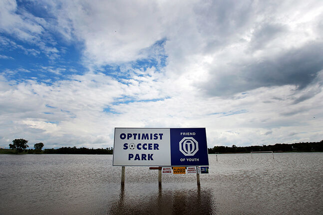 Optimist Park is under water for the second time this year, leaving the Brandon Youth Soccer Association executive reeling as they wonder what's next for a facility that has never fully recovered from a devastating flood in 2011.