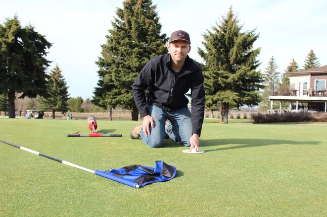Jordan Joye is the new superintendent at the Glen Lea Golf Course after having spent the past few years working on the grounds crew of courses in Saskatchewan and B.C.