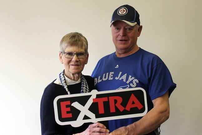 Virden's John and Kathleen Welsh won $250,000 on the April 3 Extra draw.