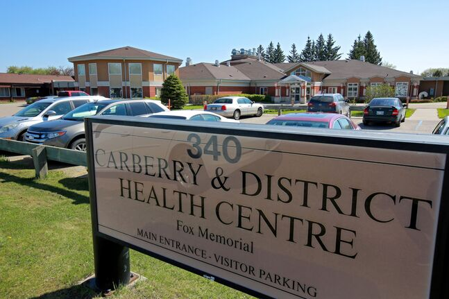 The Carberry and District Health Centre is seen on Friday morning. The Town of Carberry already has a health action committee, and Mayor Stuart Olmstead said health care is always a concern.