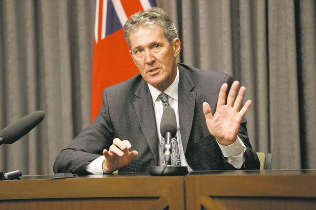 'This project cannot be allowed to sit for seven years while we give in to red tape' - Brian Pallister