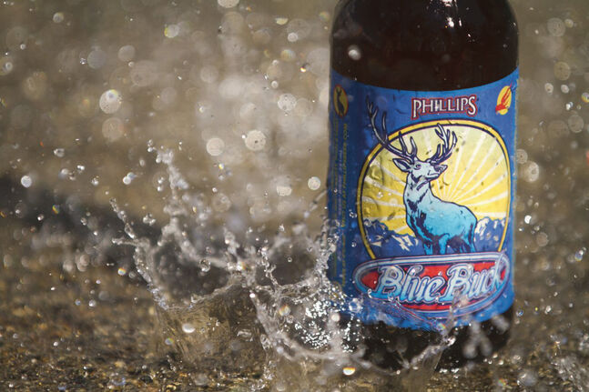 Blue Buck Beer. (Photo courtesy of Craig Kalnin)