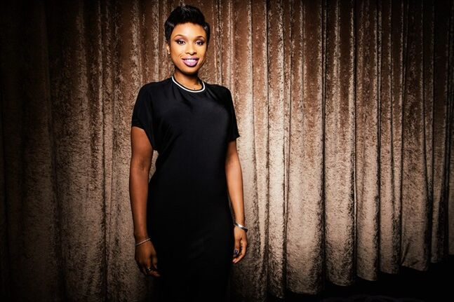 Singer-actress Jennifer Hudson poses at The Beverly Hilton during press day on Thursday, January 23, 2014, in Beverly Hills, Calif. Hudson will be performing at Clive Davis' annual pre-Grammy gala on Saturday, Jan. 25, 2014, in Los Angeles. (Photo by Casey Curry/Invision/AP)