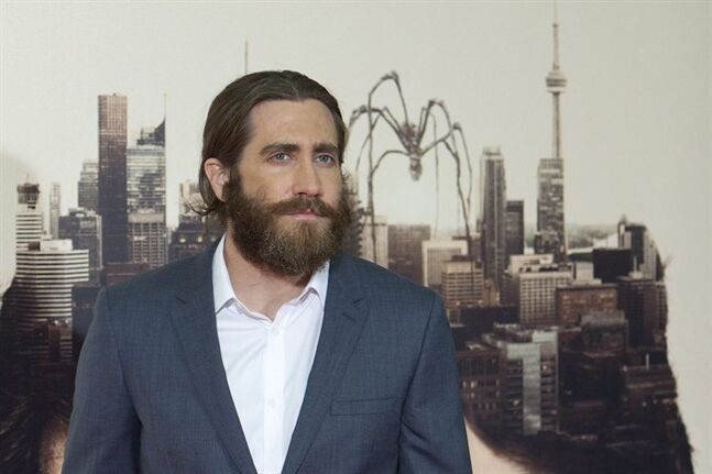 FILE - In this March 20, 2014 file photo, US actor Jake Gyllenhaal poses for the photographers during the Spain Premiere of the movie