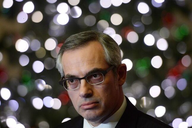Treasury Board President Tony Clement is shown at a news conference in Ottawa, Tuesday, Nov.26, 2013. Clement has warned public servants they face new performance reviews to weed out poor workers. THE CANADIAN PRESS/Sean Kilpatrick