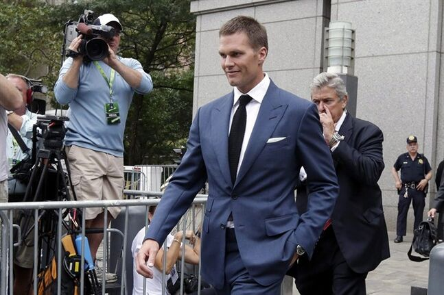 NFL asks court to restore Brady's 'Deflategate' suspension