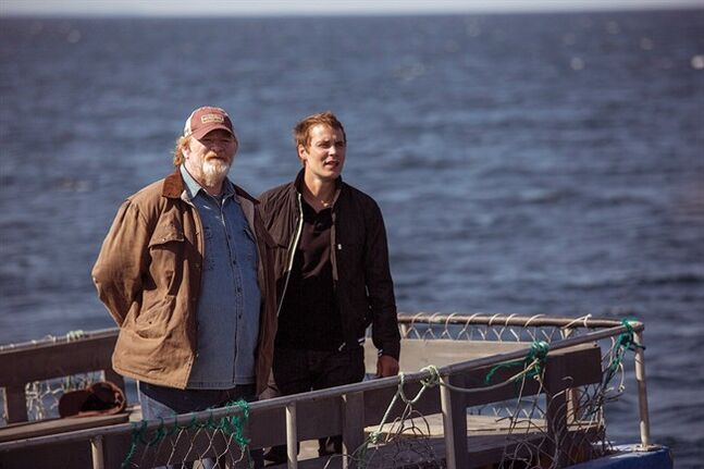 From left, Brendan Gleeson plays Murray French and Taylor Kitsch plays Dr. Paul Lewis in The Grand Seduction. THE CANADIAN PRESS/ HO, Duncan de Young/ Max Films
