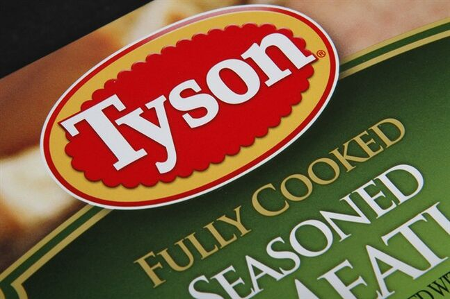 A Tyson food product, is pictured in Montpelier, Vt. on Nov. 18, 2011. THE CANADIAN PRESS/AP, Toby Talbot