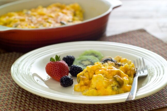 Scrambled eggs are shown in a handout photo. Beating the time crunch when it comes to having breakfast before heading off to school and work seems to be difficult for many families to achieve. THE CANADIAN PRESS/HO, Egg Farmers of Ontario