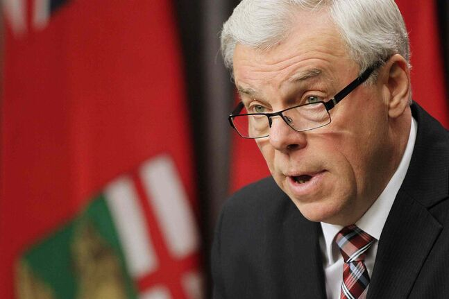 Premier Greg Selinger says Manitoba can't afford to lose $500 million in transfer payments because of a miscalculation.