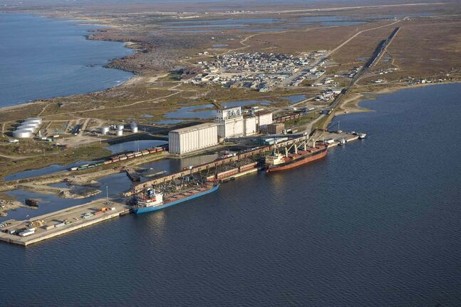 About 700,000 tonnes of grain are expected to be shipped through the Port of Churchill this year, offering Omnitrax an alternative to hauling oil along its rail line.