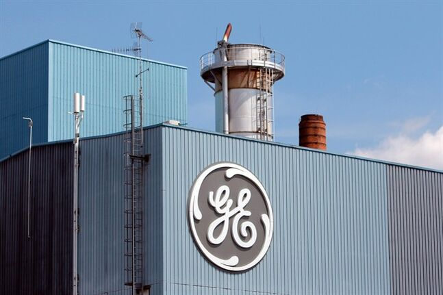 FILE - This June 24, 2014 file photo shows the General Electric plant in Belfort, eastern France. General Electric's net income rose 13 percent in the second quarter on strong performance from its aviation and oil and gas divisions, the company said Friday, July 18, 2014. (AP Photo/Thibault Camus, File)