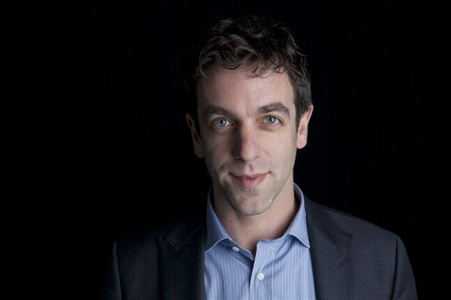 This Feb. 7, 2014 photo shows actor and author B.J. Novak posing for a portrait to promote his new book,