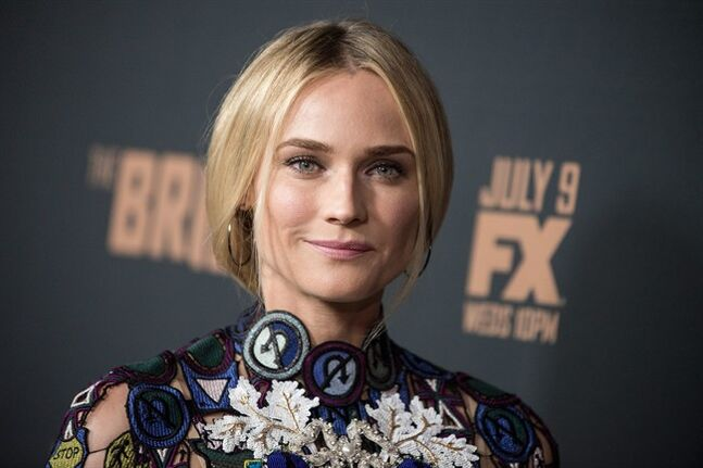 FILE - This July 7, 2014 photo shows German actress Diane Kruger at the LA Premiere Screening of