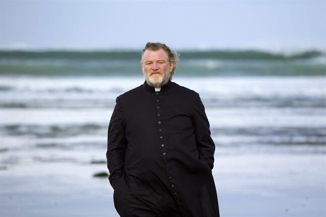 This image released by Fox Searchlight shows Brendan Gleeson as Father James in a scene from