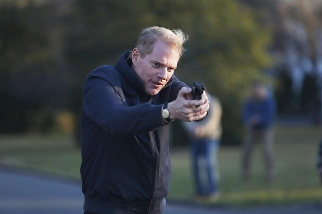 This image released by FX shows Noah Emmerich as FBI Agent Stan Beeman in a scene from the first season of