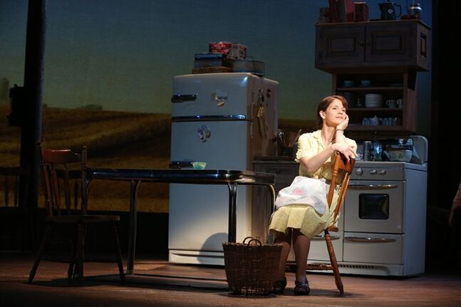 This image released by Jeffrey Richards Associates shows Kelli O'Hara during a performance of