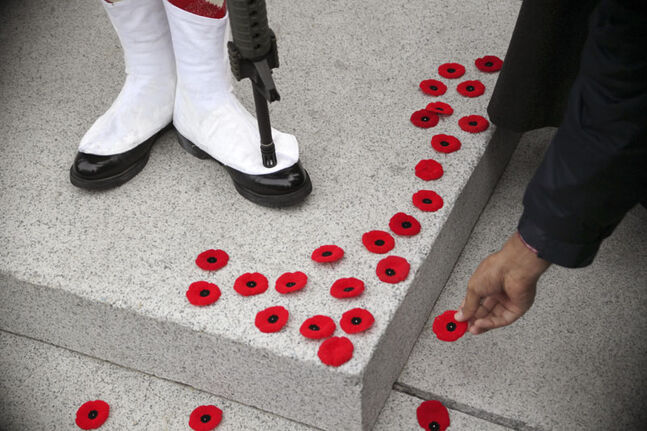 With Remembrance Day falling on a Sunday, comes special rules for retail. (File)