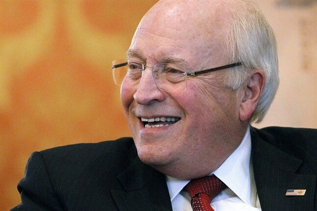 FILE - In a Dec. 13, 2013 file photo, former U.S. Vice President Dick Cheney smiles as he talks about his new book,