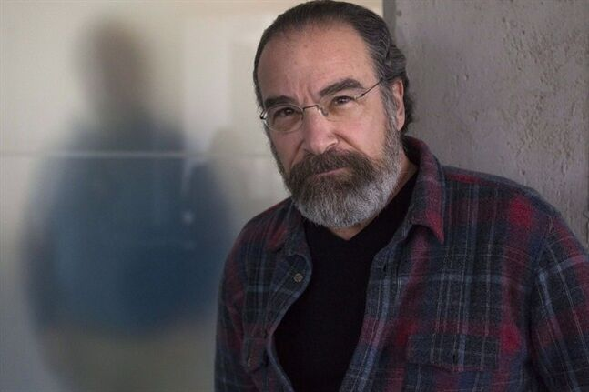 Actor Mandy Patinkin is photographed at a television network's offices in Toronto, on Monday March 4, 2013, as he promotes the television series
