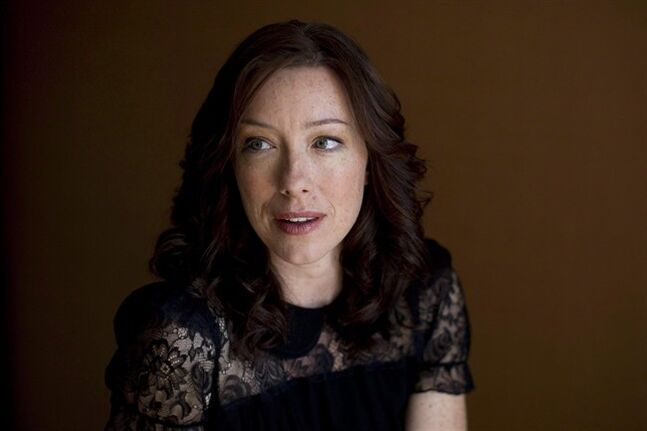Canadian actor Molly Parker poses for a photo at the Toronto International Film Festival in Toronto on Saturday September 11, 2010. Parker says she relished the chance to dive into the dark intrigue of
