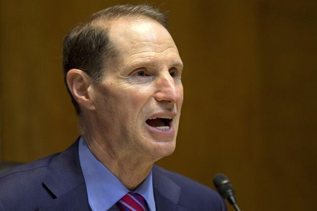 In this June 6, 2013 photo, Senate Energy and Natural Resources Chairman Sen. Ron Wyden, D-Ore., speaks in Washington. THE CANADIAN PRESS/AP, Jacquelyn Martin