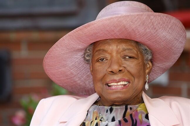 Poet and author Maya Angelou smiles at her home in Winston-Salem, N.C. on May 20, 2010.THE CANADIAN PRESS/AP, Nell Redmond
