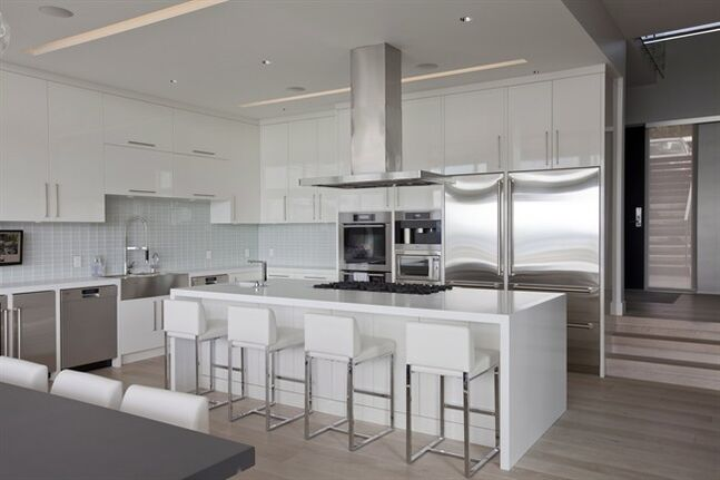 Tanya Shoenroth, Vancouver interior designer, says double ovens will become invaluable for homeowners looking for versatility in their kitchen. THE CANADIAN PRESS/HO - Janis Nicolay