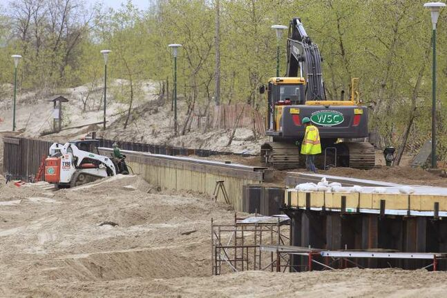 Recent capital improvements to Manitoba parks include the boardwalk expansion at Grand Beach.