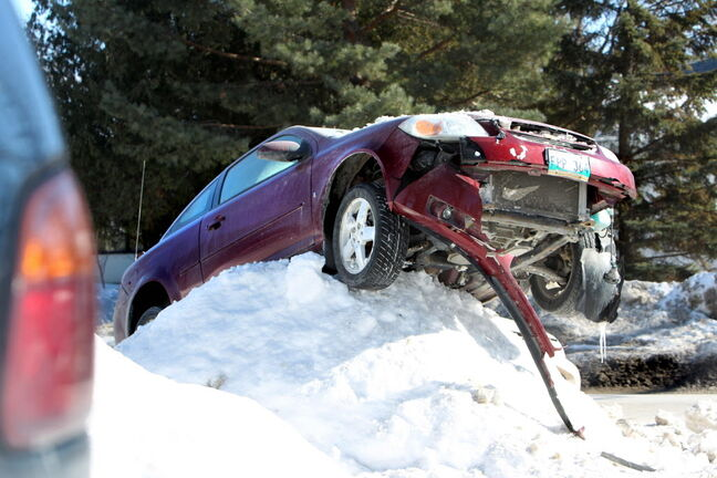 Our horrible winter led to numerous motor vehicle collisions and a record number of claims to Manitoba Public Insurance.