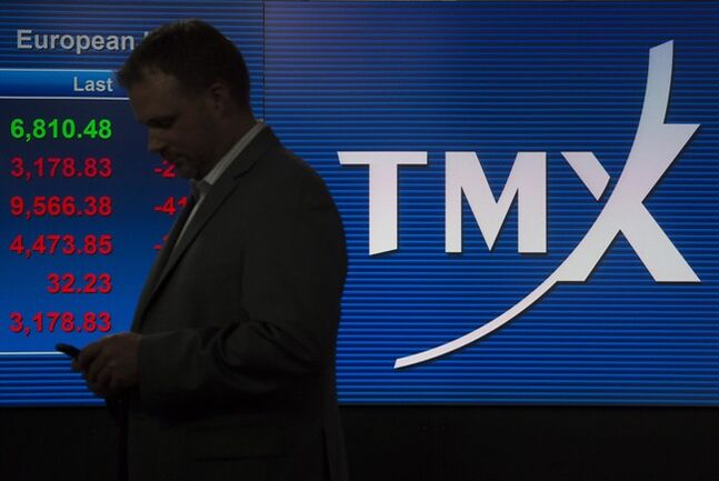 The TMX broadcast centre is pictured in Toronto May 9, 2014. THE CANADIAN PRESS/Darren Calabrese