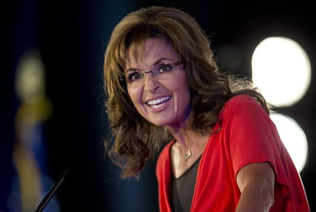 """FILE - In this June 15, 2013 file photo, Sarah Palin speaks during the Faith and Freedom Coalition Road to Majority 2013 conference in Washington. The Sportsman Channel said Monday, July 7, 2014, that Palin's series, """"Amazing America,"""" is being renewed for a second season that will start early next year. The former Republican vice presidential candidate profiles outdoor enthusiasts and craftsmen for the series. (AP Photo/Carolyn Kaster, File)"""