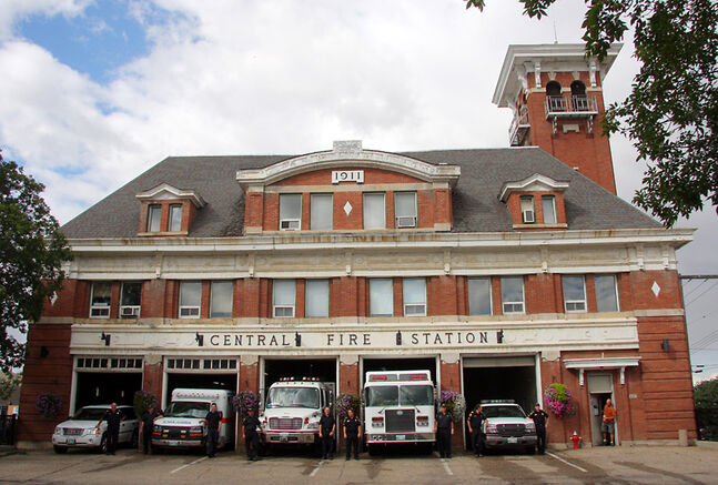 The former fire hall on Princess Avenue is up for sale.