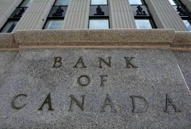 The Bank of Canada marker is pictured in Ottawa on September 6, 2011. THE CANADIAN PRESS/Sean Kilpatrick