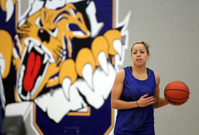 Stephanie Haynes has quietly been a major contributor to the Brandon University Bobcats women's basketball team this season. The guard has averaged 7.6 points per game and, despite standing only 5-foot-7, is BU's leading rebounder.