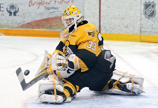 The performance of rookie goaltender Jordan Papirny will be one of the big keys to the Brandon Wheat Kings' success in the second round of the Western Hockey League playoffs.