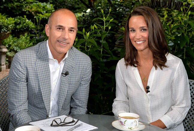 This undated image released by NBC shows Matt Lauer, co-host of the