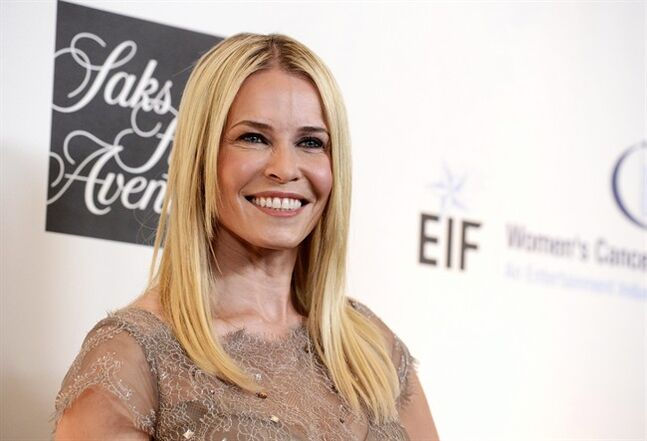 FILE - In this May 2, 2013 file photo, Chelsea Handler arrives at