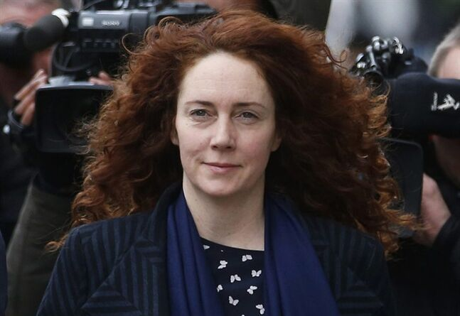 FILE - This is a Wednesday, Feb. 19, 2014 file photo of Rebekah Brooks, the former News International chief executive, arrives at the Central Criminal Court in London where she appears to face charges related to phone hacking. Brooks' lawyer has told the jury at Britain's phone-hacking trial on Tuesday May 20, 2014 that they must ignore the