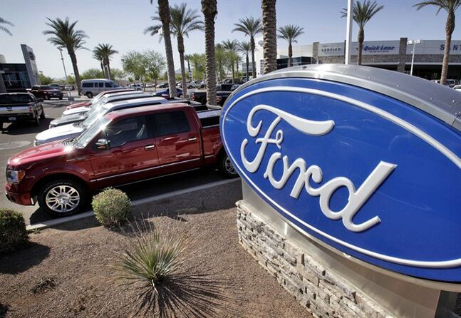 Ford's 1Q net income doubles on truck, SUV sales